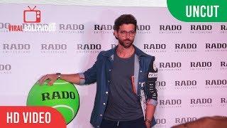 UNCUT - Hrithik Roshan Launch Of Rado