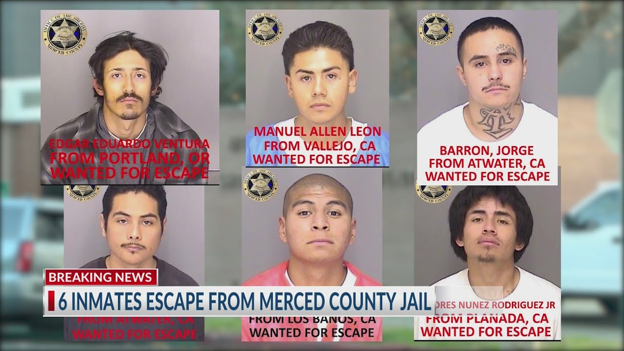 KSEE inmates escape from Merced County Jail