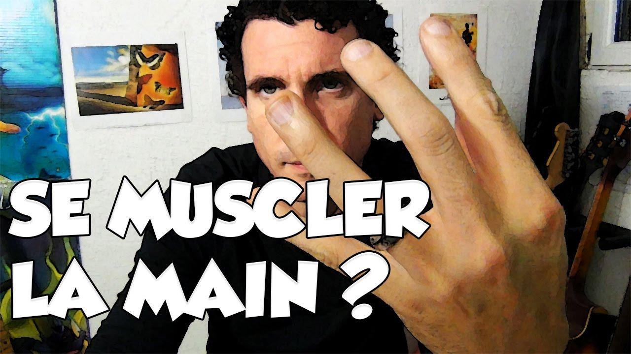 SE MUSCLER LA MAIN ? - LE GUITAR VLOG 354