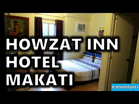 Makati Manila: Howzat Inn Hotel, Philippines S3, Vlog #125
