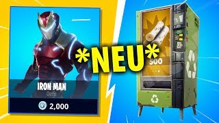 *NEW* IRON MAN SKIN in Fortnite and NEW AUTOMAT?!