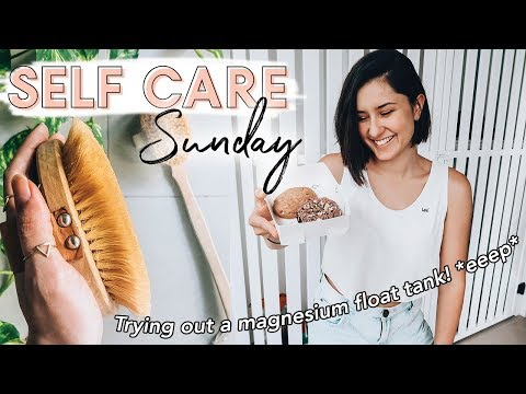 A Sunday Of Self Care   Magnesium Float Tank Experience, Skincare + Chill Sunday!