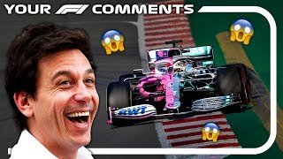 IT'S TIME TO CANCEL MERCEDES & RACING POINT | Your F1 Comments