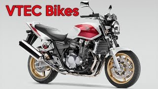 The Only Honda Bikes With VTEC