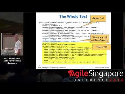 Unit Test Craftsmanship - Agile Singapore Conference 2016