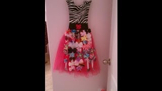 Tutu Bow Holder Tutorial- Part 1 Of 2