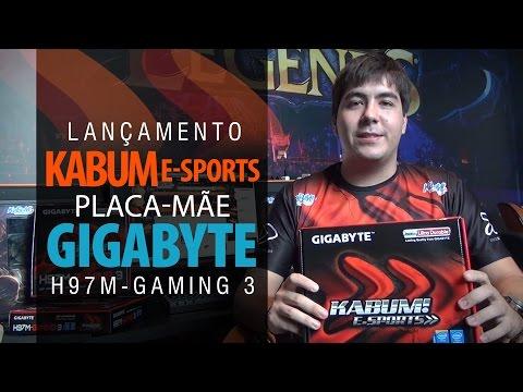 (Lançamento) KaBuM! e-Sports – Placa-mãe GIGABYTE GA-H97M-GAMING 3