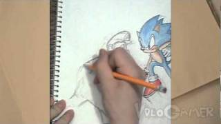 How to Draw Mario and Sonic (Super Smash Brothers Brawl)