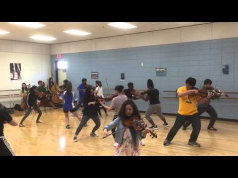 Fire in Forge movement rehearsal 3/10/2016