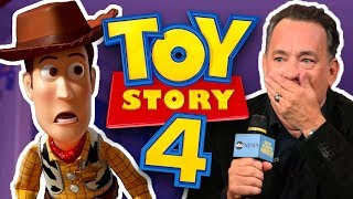 Tom Hanks Won't Stop Spoiling Toy Story 4
