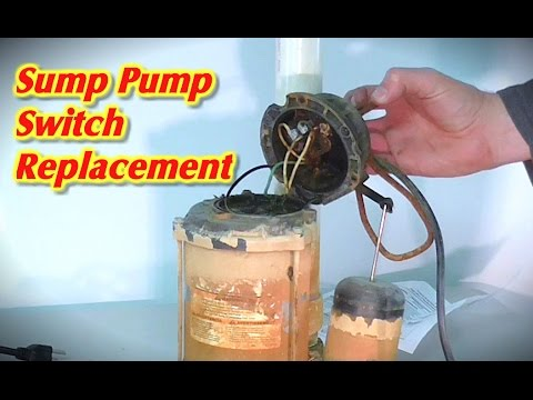 Sump Pump Float Switch Repair