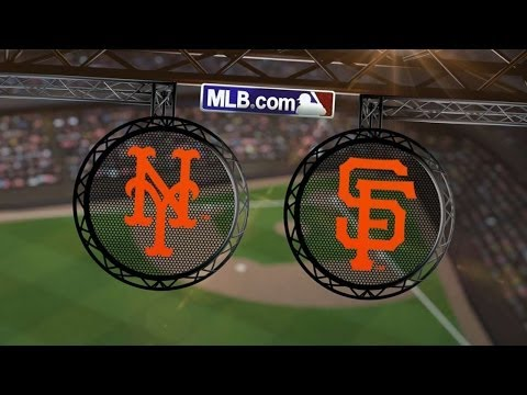 6/6/14: Cain, Posey lead Giants to 4-2 victory