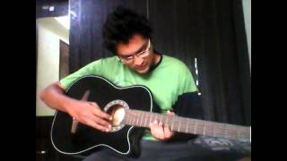 Friends title song open notes on guitar