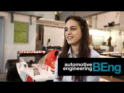 Nina Parsons - BEng Automotive Engineering student at Oxford Brookes University