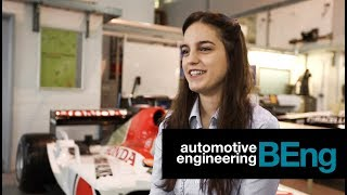 Nina Parsons - BEng Automotive Engineering student at Oxford Brookes University