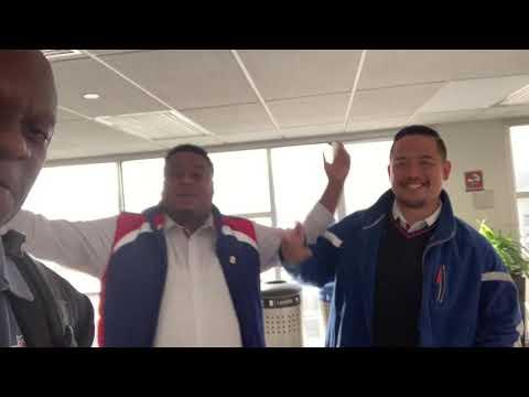Zennie62 YouTube Fans Talk Browns Garrett Suspension At SFO Airport