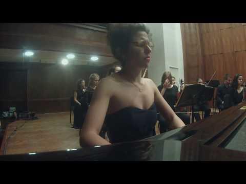 Minka Popović & K.O. Muzikon - PIANO CAM - W. A. Mozart - Piano Concerto No.9 (sequence)