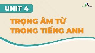 Unit 4: Trọng âm từ trong tiếng Anh