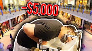 HE REALLY DID THIS IN PUBLIC! *HE LOST $5,000*