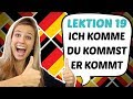 GERMAN LESSON 16: EASY Conjugation of German REGULAR VERBS