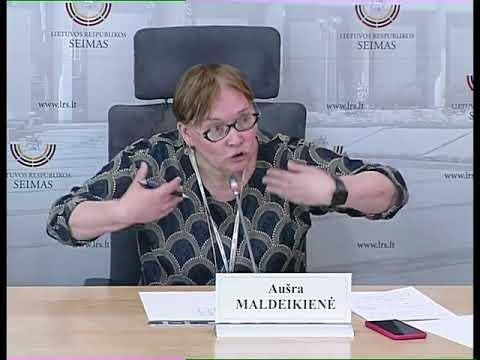 """2019-05-30 Seimo narės Aušros Maldeikienės spaudos konf. """"Artimiausi darbai Europos Parlamente"""""""