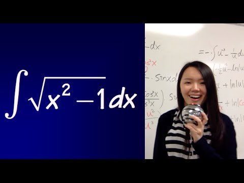 integral of sqrt(x^2-1)