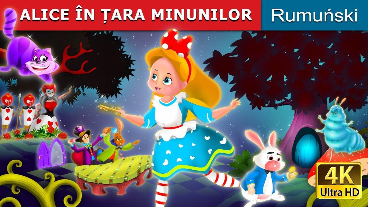 ALICE ÎN ȚARA MINUNILOR | Povesti pentru copii | Basme in limba romana | Romanian Fairy Tales