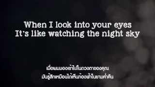 I Won't Give Up - Jason Mraz (lyrics) แปลไทย