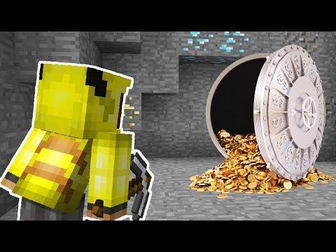 ISMETRG MADENDE GİZLİ ALTIN KASA BULDU! 😱 - Minecraft