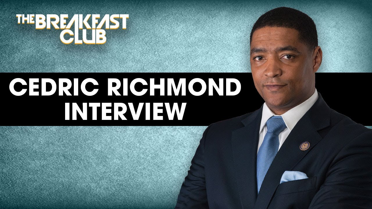 Cedric Richmond Talks Debate Misconduct, Biden Campaign, Addressing Our Issues + More