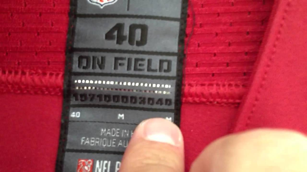 nike on field nfl jersey