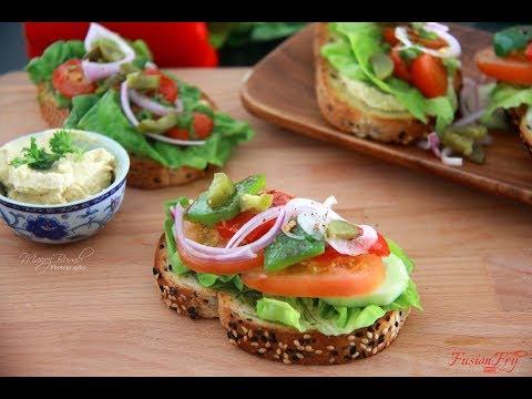 Sandwich   Open Sandwich   Quick Sandwich   Easy Sandwich   How to make Sandwich