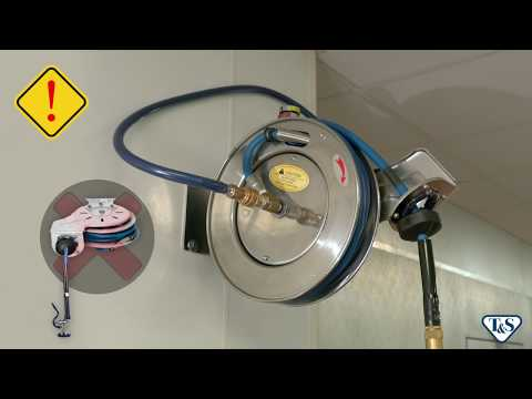 T&S Hose Reel Installation Step-by-step