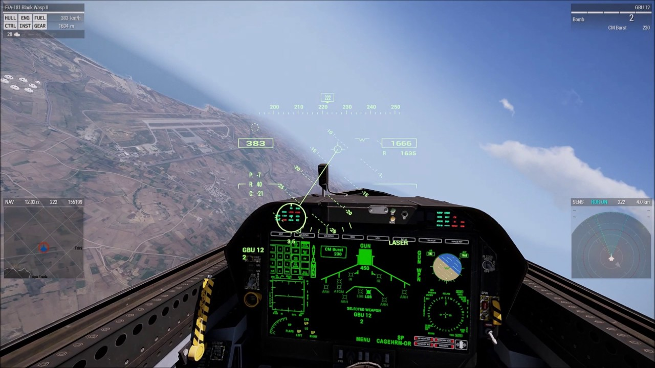 How to use laser and bomb targets in Arma3-V1 70