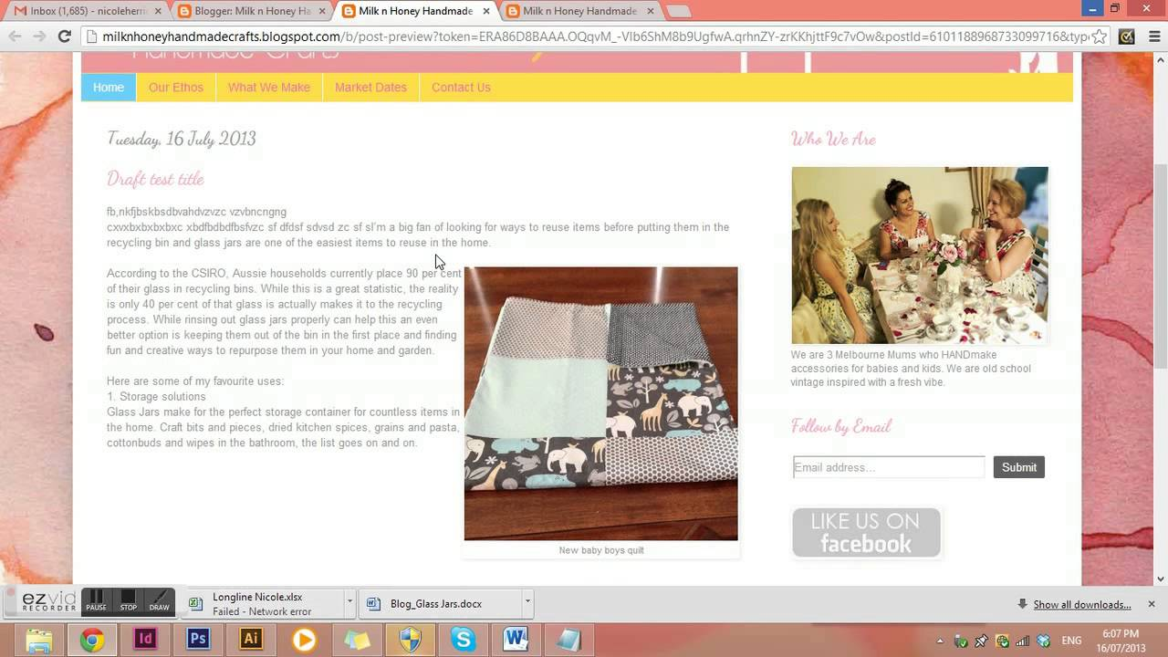 Of Blog