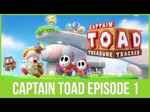 Vi spiller Captain Toad Treasure Tracker afsnit 1