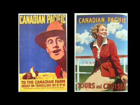AbeBooks Review: Posters Of The Canadian Pacific