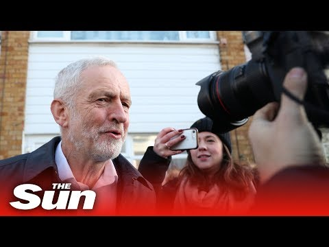 Jeremy Corbyn the morning after seven MPs resign