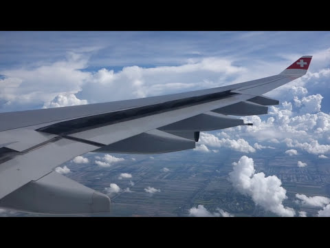 Swiss A340-300 Zurich to Bangkok - LX 180 Full Flight