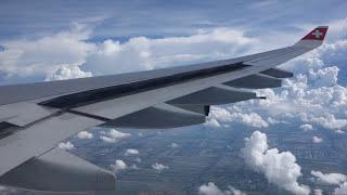 Swiss A340-300 Zurich to Bangkok - LX 180 Full Flight