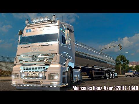ETS2 V1.27 I Mod ★ Mercedes Benz Axor 3280 & 1840 [Deutsch/HD]
