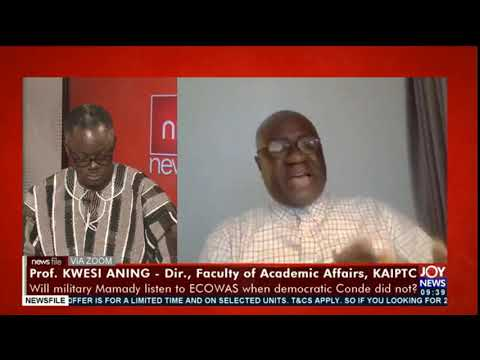 Guinea coup: It's very unfortunate but the military won't leave - Prof. Kwesi Aning