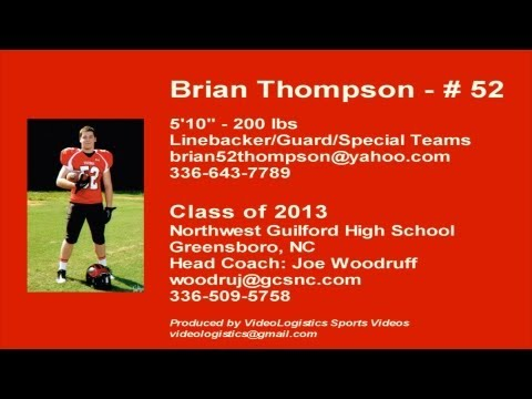 Brian Thompson 2012 Highlights - Class of 2013 - 5