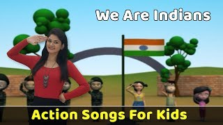 Republic Day Song For Children | We are Indians Poem | Action Songs For Kids | Baby Nursery Rhymes