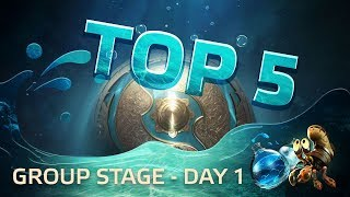 TOP5 Highlights TI7 Group stage - Day 1