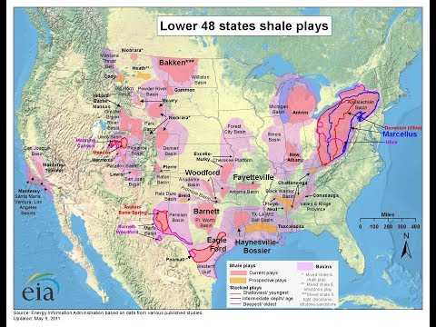 Why Can Only USA Produce Shale Oil (為什麼只有美國生產頁岩油)