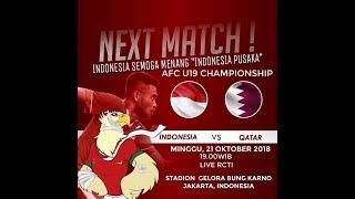 AFC U-19 INDONESIA VS QATAR | INDONESIA PUSAKA REMIX HQ
