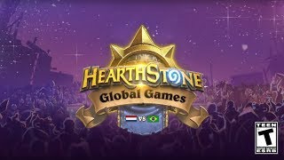 Netherlands vs. Brazil - Stage 3 - 2017 Hearthstone Global Games - Week 14