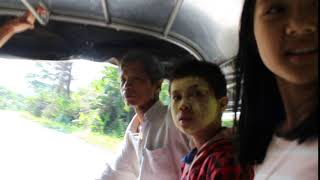 way back to NU PO CAMP from PER KLER thai burma border
