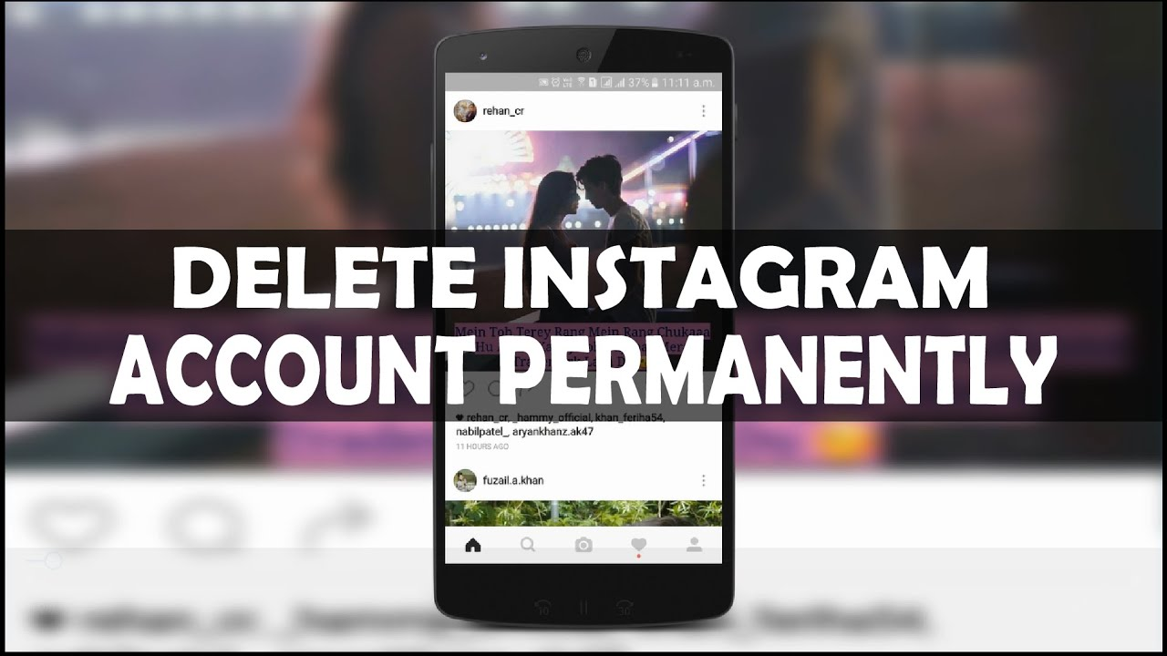 Hindi urdu how to delete instagram account permanently 2016 youtube hindi urdu how to delete instagram account permanently 2016 ccuart Images